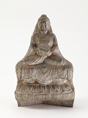 Seated Buddha (<em>Shakyamuni</em>), fragment