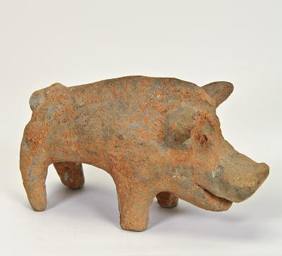 Figure of a boar