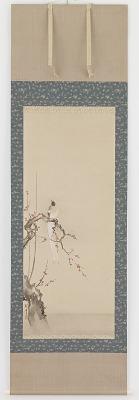 Bird and plum blossoms