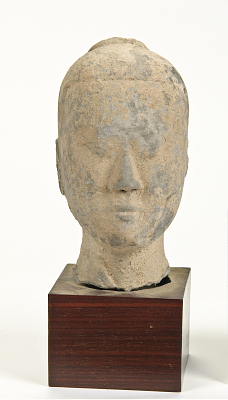 Head from a figure of a man