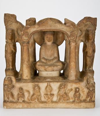 Buddha and Bodhisattva