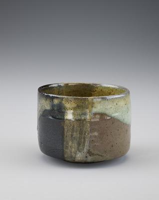Tea bowl, Takatori or Satsuma ware