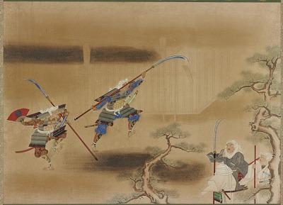 Territorial strife between Enryaku-ji and Kofuku-ji (?)