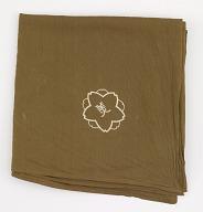 Wrapping cloth (furoshiki) with logo of Kyoto Bijutsu Club