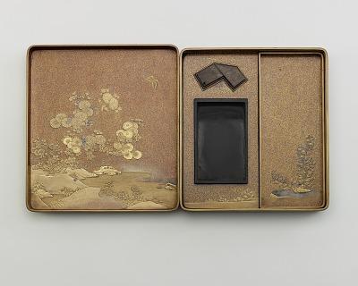 Inkstone box (<em>suzuribako</em>)