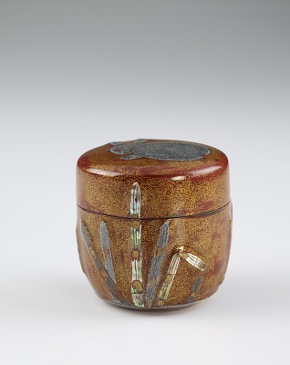 Powdered tea container (natsume)