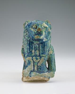 Fragment of a Sekhet or Bast figure