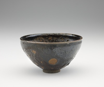 Tenmoku tea bowl, possibly Agano ware