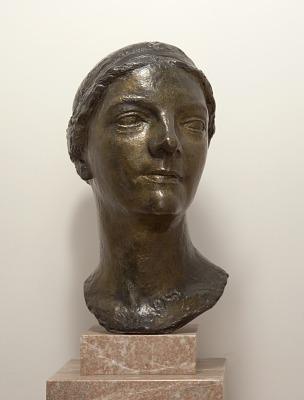 Portrait Bust, Head of Agnes Meyer