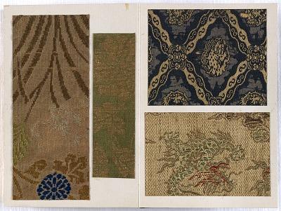 Album of textile samples