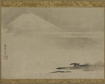 Landscape: Mt. Fuji from the sea