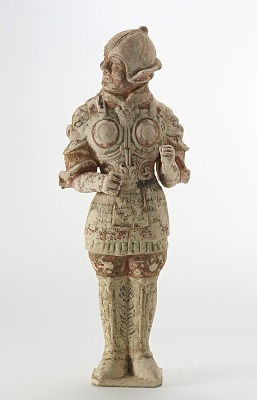 Tomb figure of a guardian