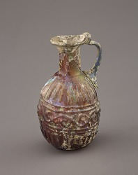 Jar with Tendrial Design