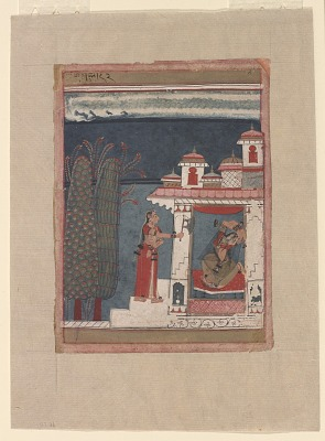Gujari Ragini from a Ragamala series