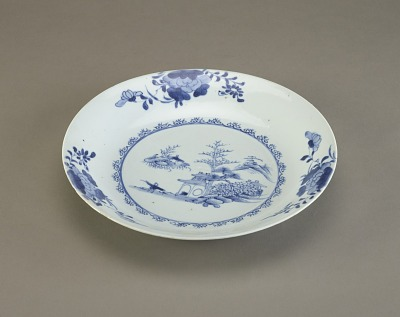 Dish, one of a pair with F1992.55.2