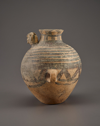 Jar with human head