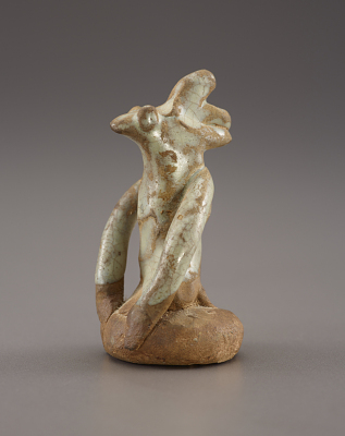 Figure of a rooster (cyclical deity)