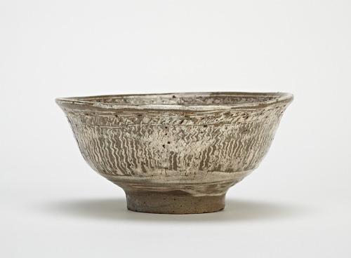 Tea bowl, mishima type