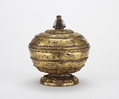 Reliquary with Stupa-Shaped Top
