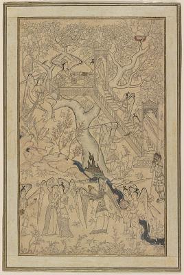 Album page: The Garden of Heavenly Creatures