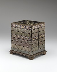 Set of Inkstone Boxes and Qiangjin Case
