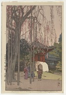 The Cherry Tree in Kawagoe, from the series Eight Scenes of Cherry Blossoms