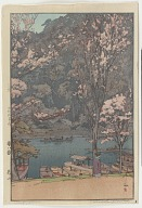 Arashiyama, from the series Eight Scenes of Cherry Blossoms