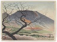 Mount Asama From Oiwake