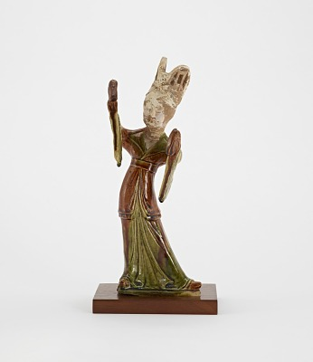 Tomb figure of a female dancer