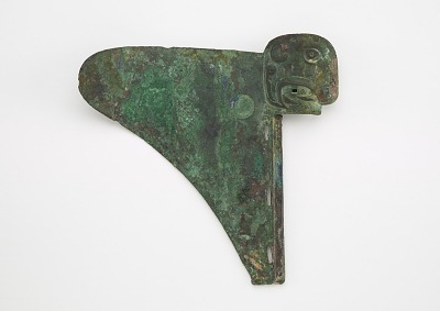 Socketed dagger-axe (<em>ge</em>) with mask