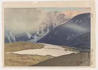 Tateyama Betsuzan, from the series Twelve Scenes of the Japan Alps
