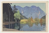 Hodakayama, from the series Twelve Scenes of the Japan Alps