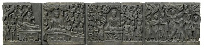 Scenes from the life of the Buddha
