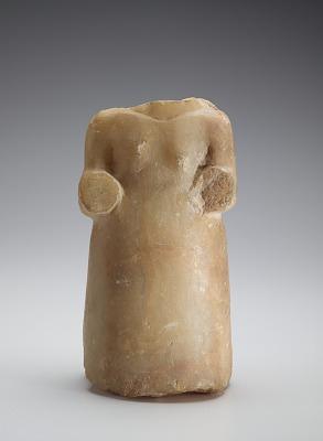Torso of a woman, fragment