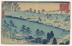 Yotsuya, from the series, Famous Places of Edo