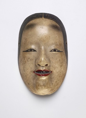 Noh mask, ko-omote type