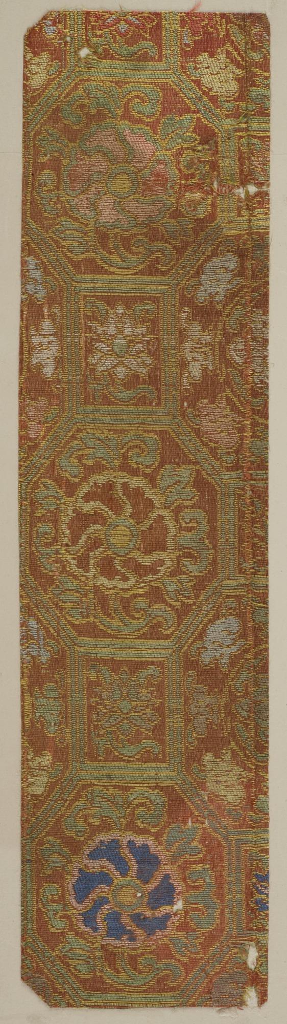 Brocade, silk. A sample