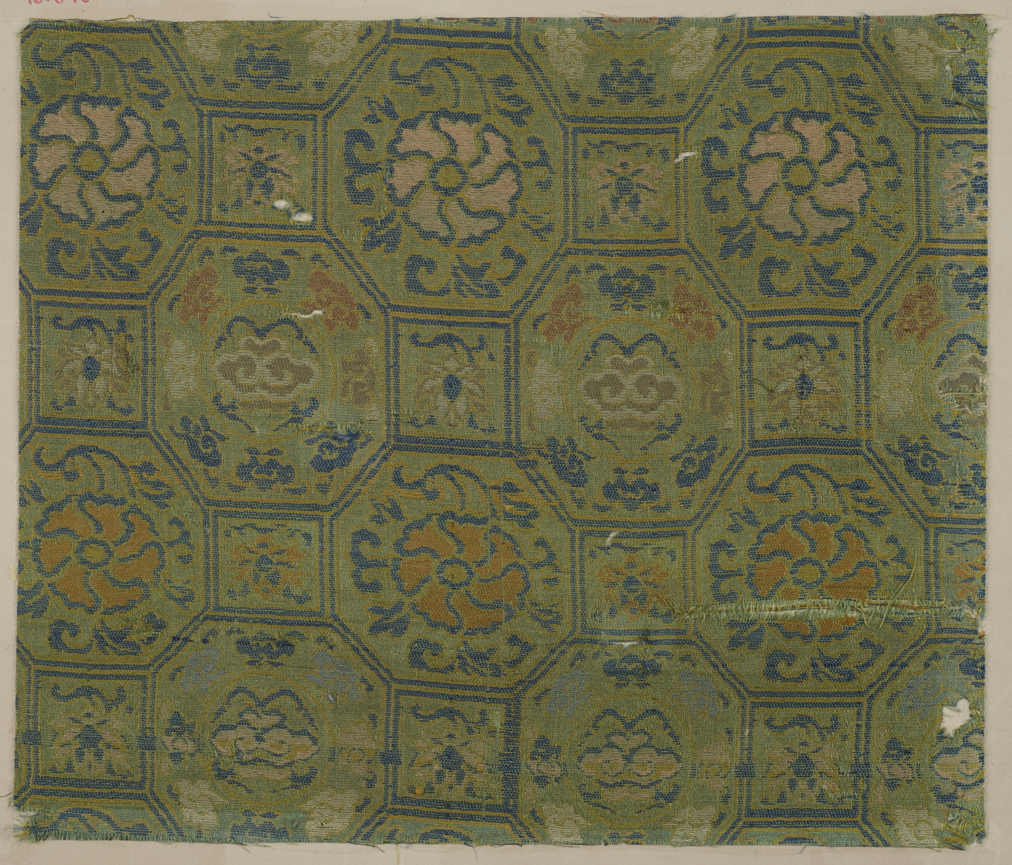images for Brocade, silk. A sample