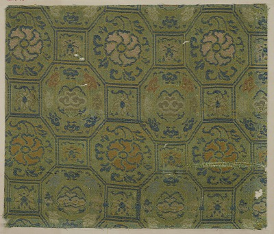 Brocade, silk. A sample