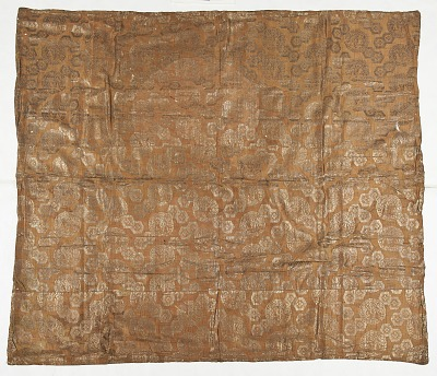 Brocade, silk. Altar cloth
