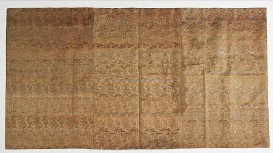 Brocade, silk. Altar cloth