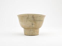 Ofuke ware tea bowl in style of Vietnamese ware