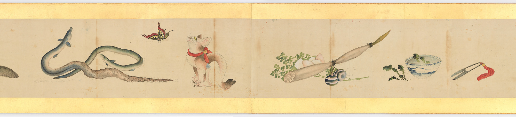 Handscroll with Miscellaneous Images