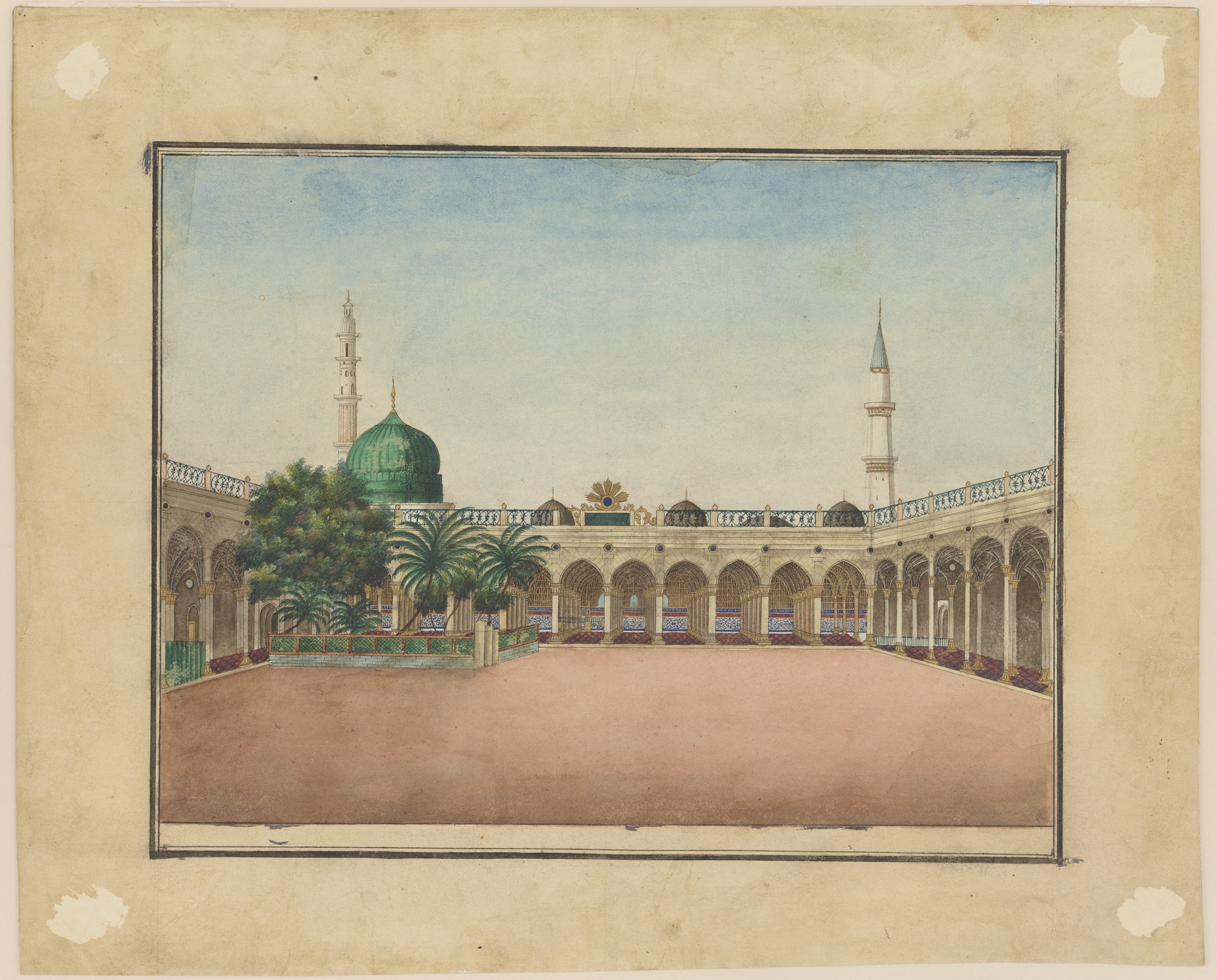 images for Tomb of the Prophet at Medina