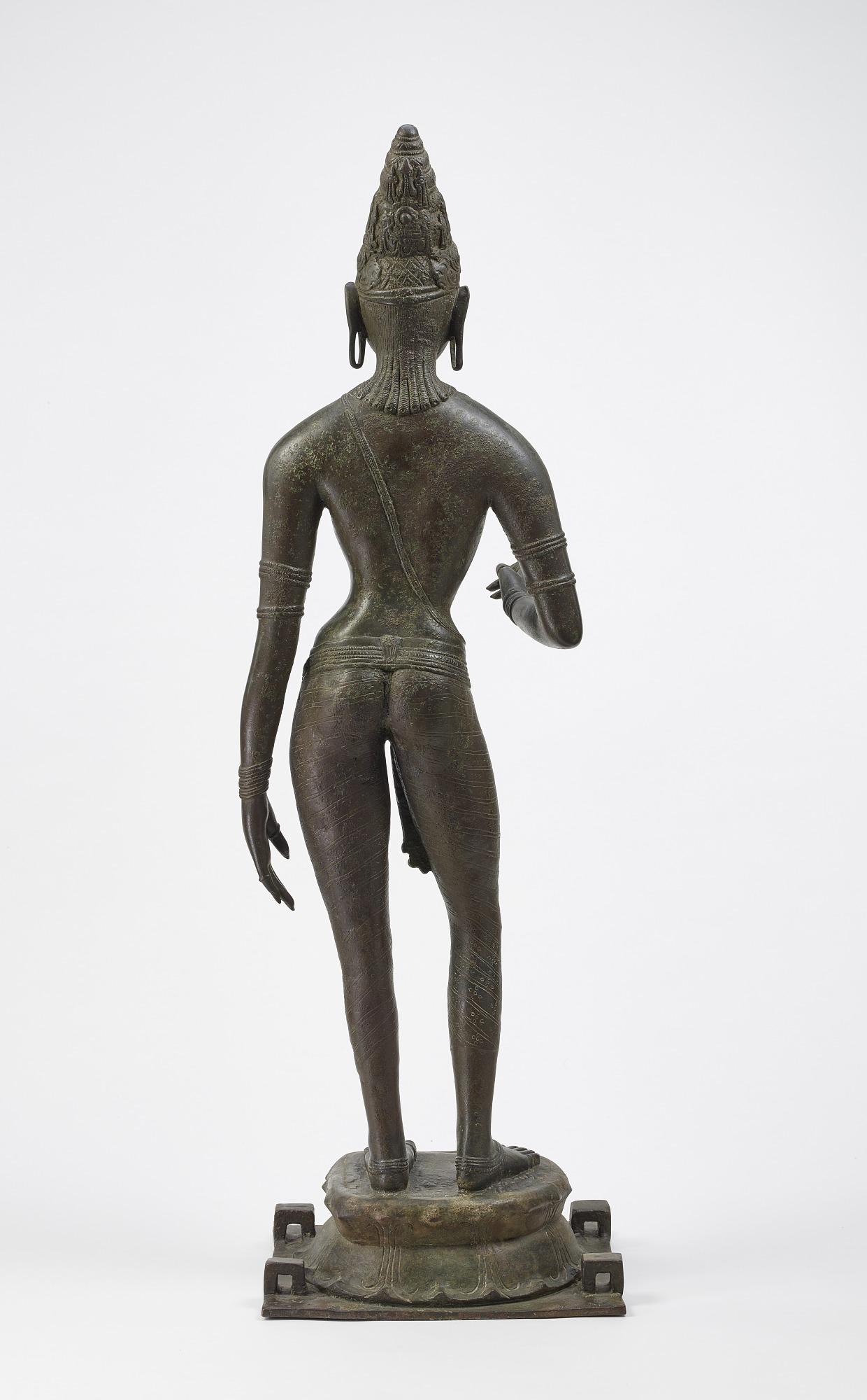 Queen Sembiyan Mahadevi as the Goddess Parvati
