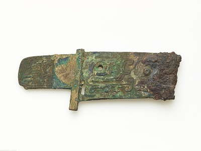 Dagger-axe (<em>ge</em>) with dragons (fragment)