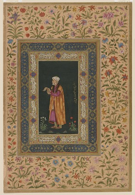 Portrait of Itimad Al-dawla