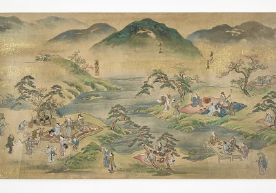Pictures of Excursions through the Famous Sites of the Capital (<em>Rakuyo meisho kan'yu-e</em>)
