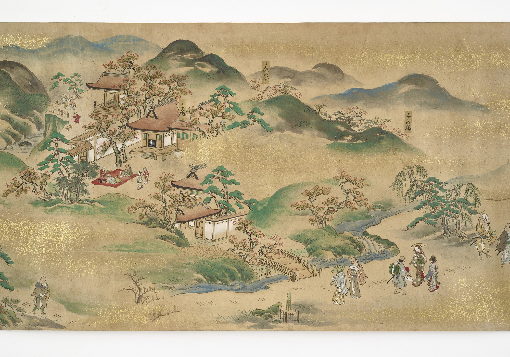 Pictures of Excursions through the Famous Sites of the Capital (Rakuyo meisho kan
