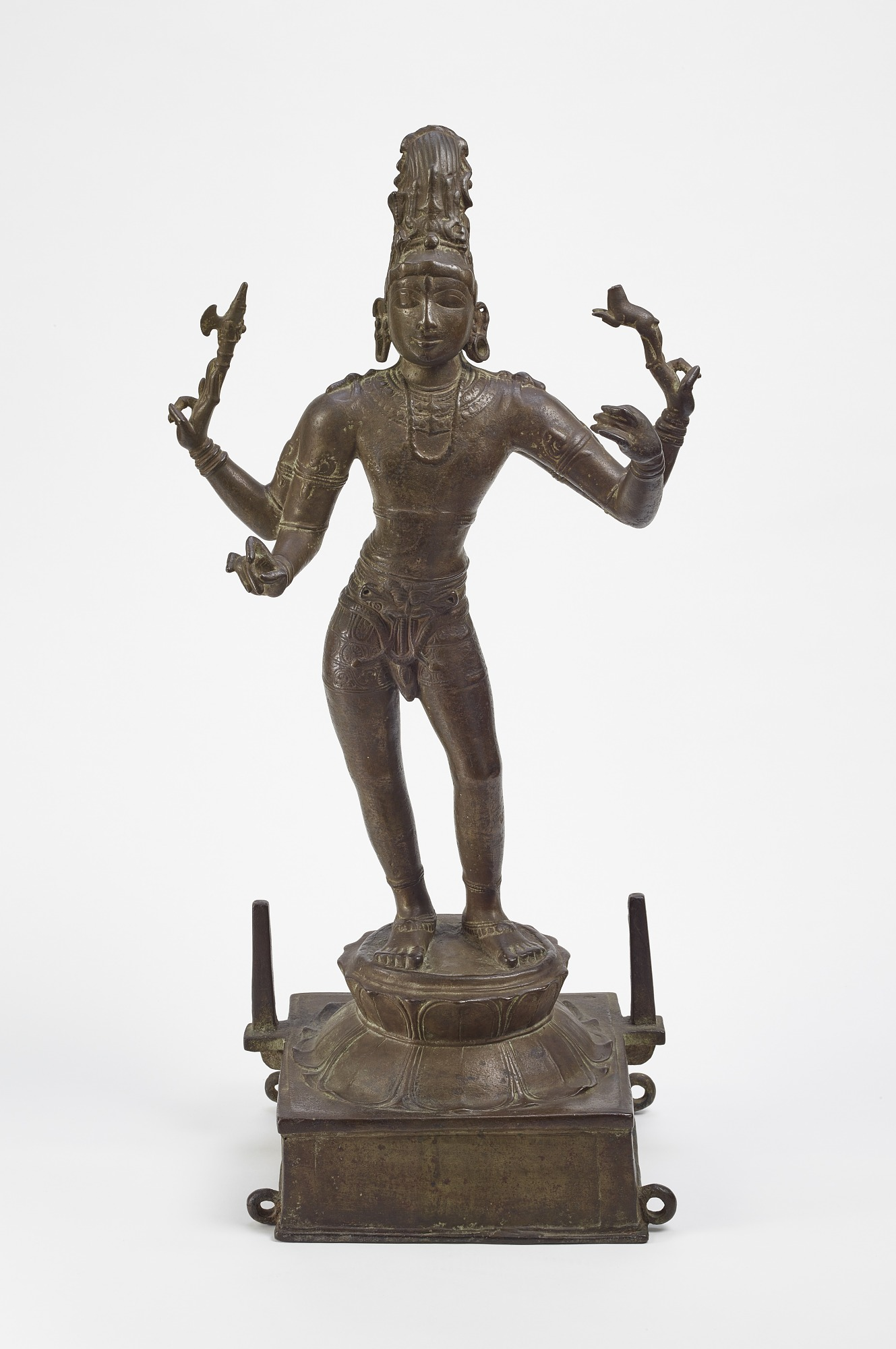 front: Shiva Vinadhara (Holder of the Lute)